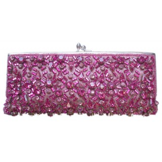 Sequin Crystal Clutch