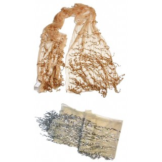 Sequin Tulle Wrap
