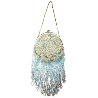 Small Farme Purse With Fringe
