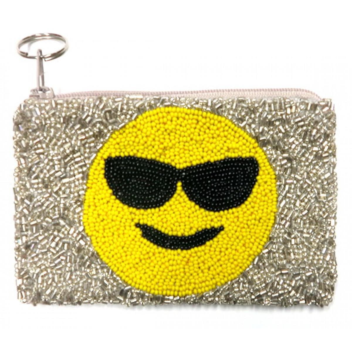 Sunglasses Emoji Coin Purse