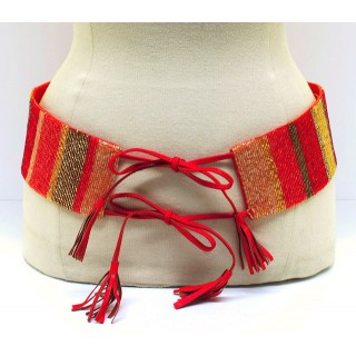 Tassel Beaded Belt