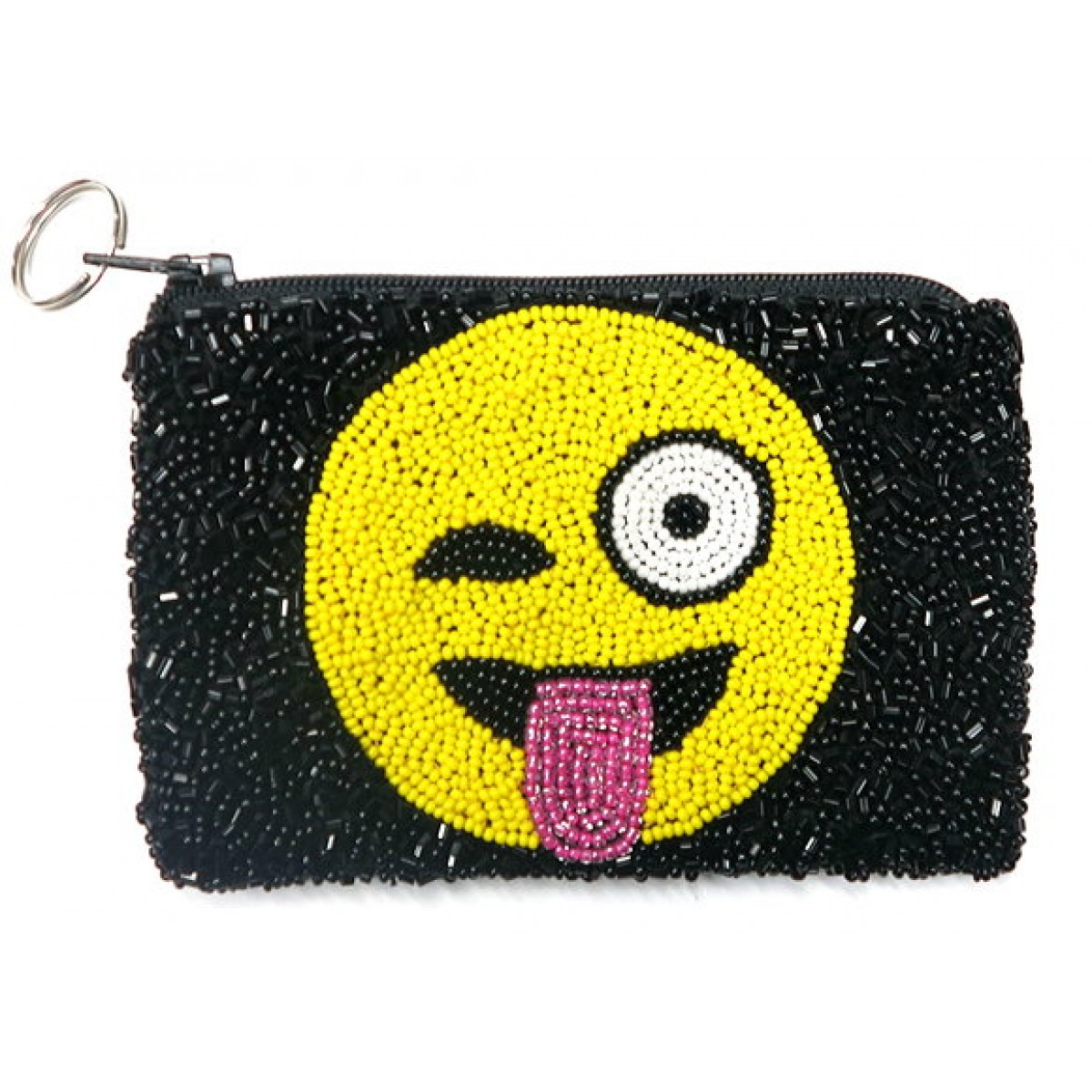 Tongue Out Emoji Coin Purse