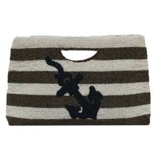 Tote Stripes with Anchor