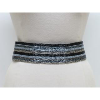 Wide Stripe Belt