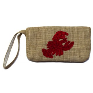 Wristlet with Lobster