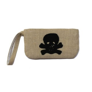 Wristlet with Skull