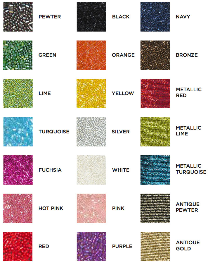 Moyna Bags Color Chart